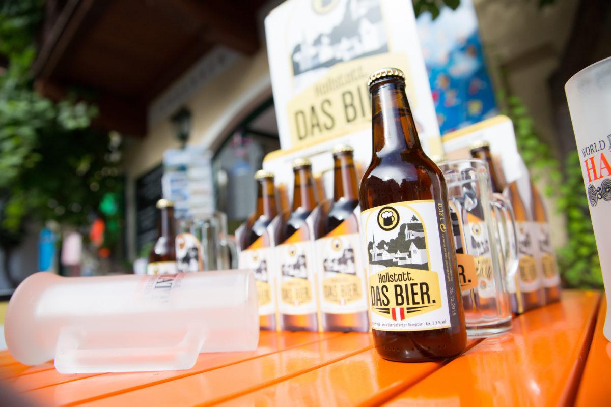 6er-Träger Hallstatt-Bier Hallstatt. DAS BIER.