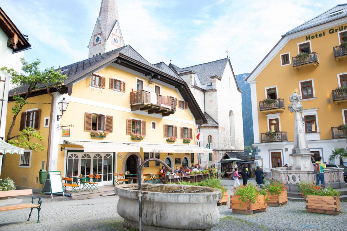Café Derbl Makrtplatz Hallstatt