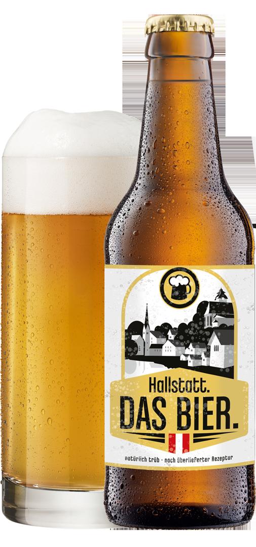 Hallstatt-Bier Hallstatt. DAS BIER.